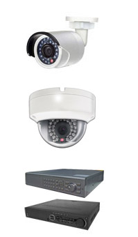 HDD and HD security camera video surveillance