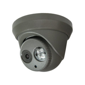 Turret dome camera grey